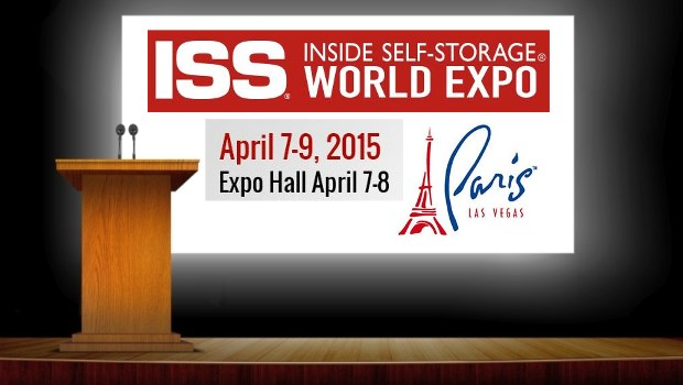 Speak at Inside Self-Storage World Expo 2015