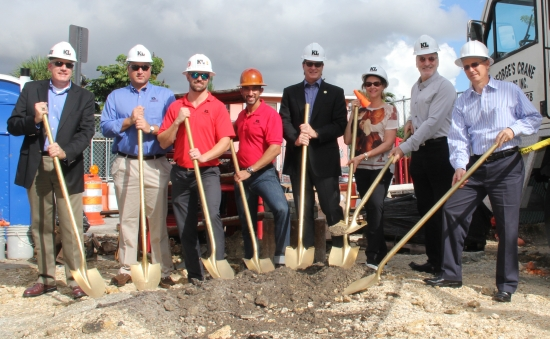 MCSS has broken ground on three self-storage developments this month.***