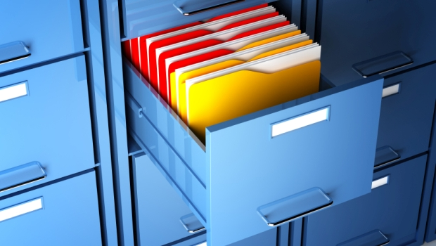 Filing Cabinet and Folders