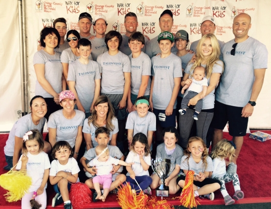 Talonvest recently participated in Walk for Kids, an annual fundraising event put on by Ronald McDonald House.***