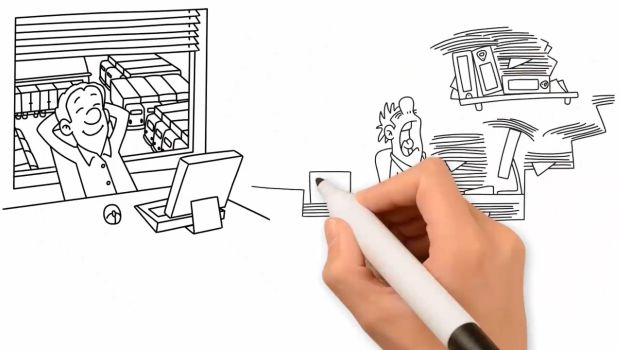Animated Video By A Low Cost Self Storage Illustrates the Operator's Value Proposition
