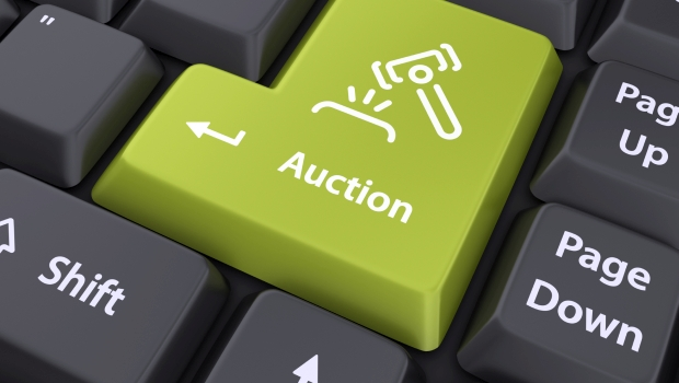 Online Auction Keyboard