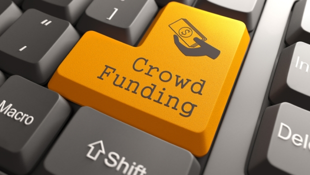 Crowdfunding Keyboard Button