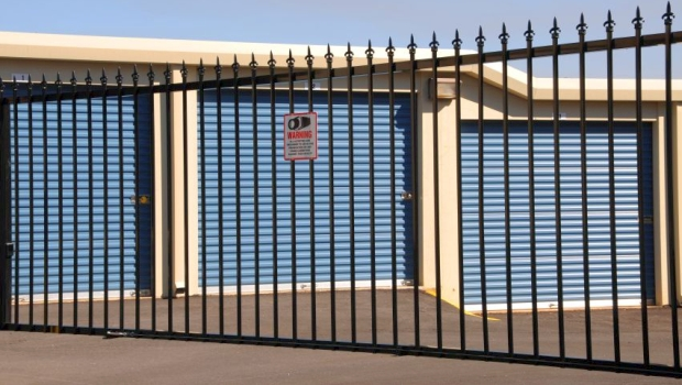 Self-Storage Security Fence