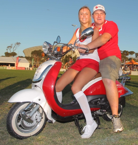 Participant Patrick Dieroff won a Big Boy scooter.