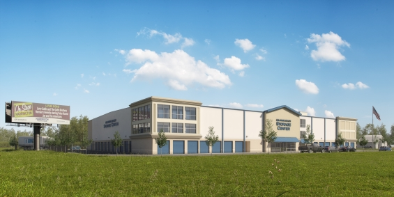 A rendering of Delaware Beach Storage Center in Lewes, Del.***