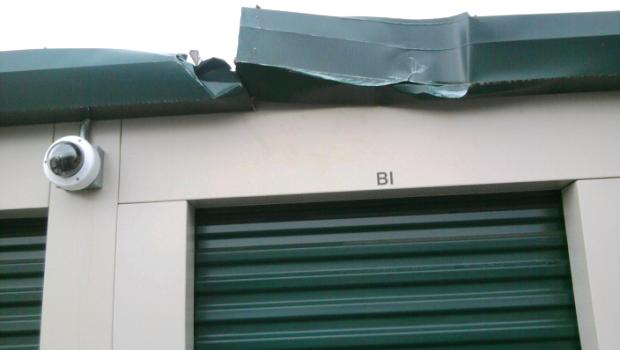 ISS Slideshow: Self-Storage Facility Damage