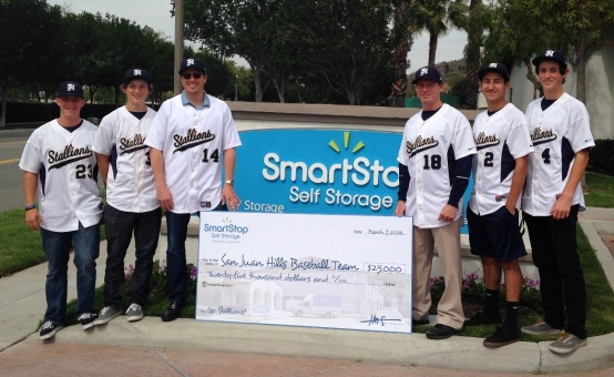 SmartStop Self Storage Baseball Scoreboard Donation***