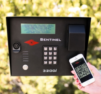 Keypads like this one from Sentinel Systems Corp. can be accessed via smartphones and other mobile devices.