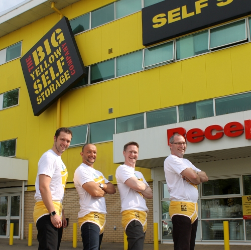 Big Yellow Self Storage Go Dad Run***