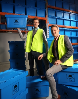 Brothers Rowan and Ryan Cockayne have launched Roary, a valet-storage business in Auckland, New Zealand.
