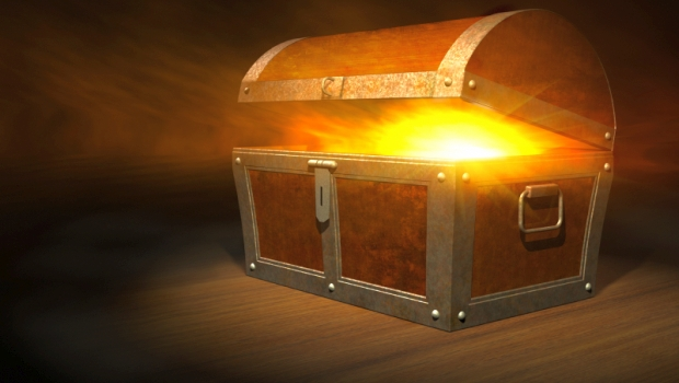 Treasure Chest Glowing