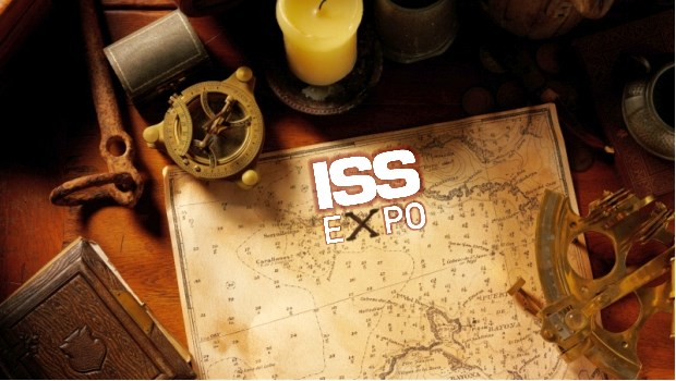 Treasure at ISS Expo