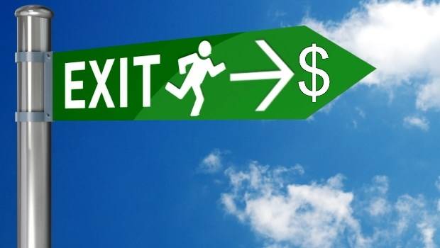 Exit Strategy Sign