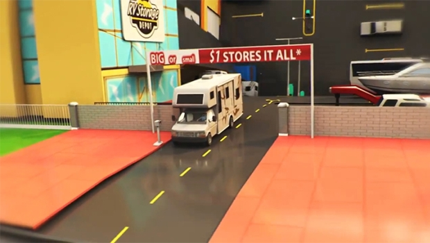 Self-Storage Operator RV Storage Depot Creates Animated Pop-Up Book to Convey Joy of RVing