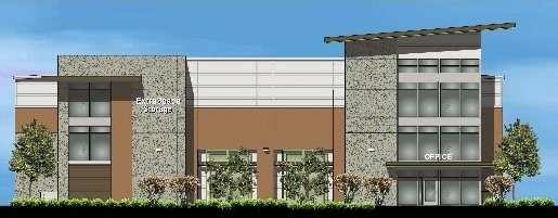 Self Storage Rendering For Highlands Ranch, Texas.***
