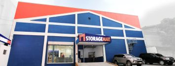 StorageMart's first facility in Makati, Philippines, which opened last year