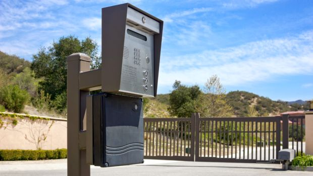Keypad Security Gate