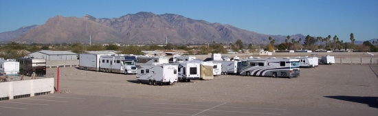 Tucson RV Storage encompasses 17 acres near Tucson, Ariz.