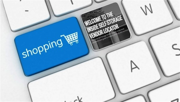 Inside Self-Storage Vendor Locator Shopping Keyboard