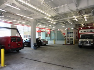 Customers enjoy interior parking so they don't have to worry about finding or paying for space on the street.