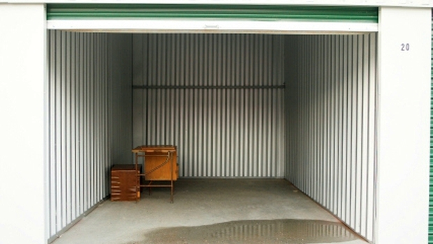 Abandoned Self-Storage Unit