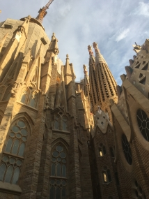 The Basilica de la Sagrada Familia