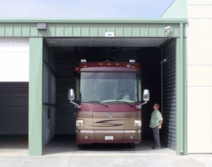 The most important element in offering storage for boats, RVs and other vehicles is space. (Photo courtesy of Mako Steel Inc.)