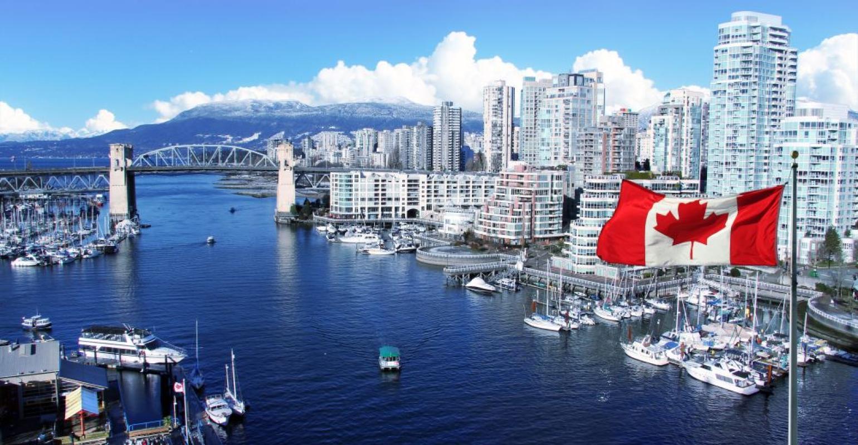 Canada-Vancouver-Cityscape-Skyline-Flag.