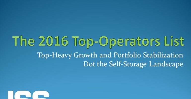 The 2016 Top-Operators List