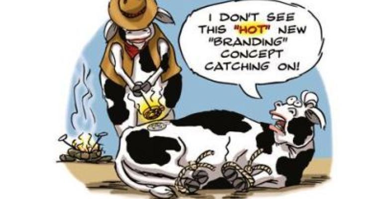 COWs Branding Cartoon