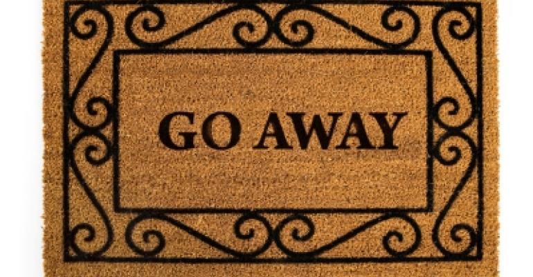 Go Away Unwelcome Mat