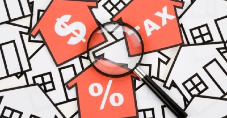 Real Estate Tax Money Percent
