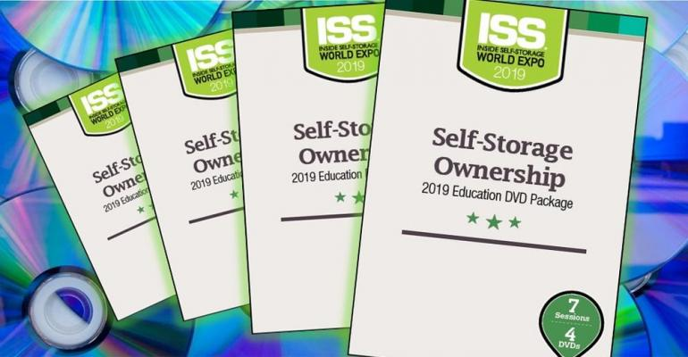 ISS Store Featured Product New Self-Storage Ownership Video Set