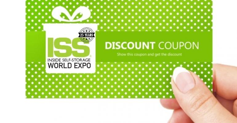 Inside Self-Storage World Expo Discounts