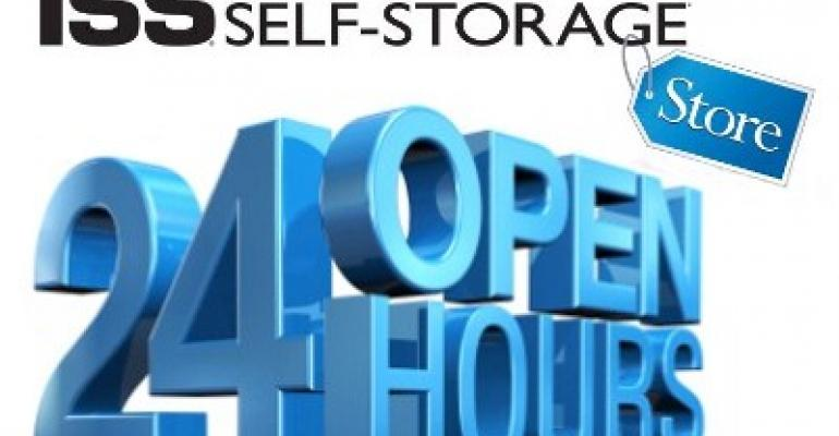 Inside Self-Storage Store Open 24 Hours