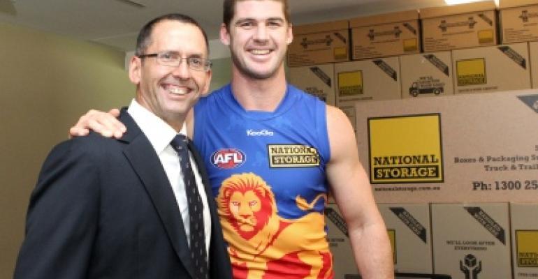 National Storage Brisbane Lions Jonathan Brown***