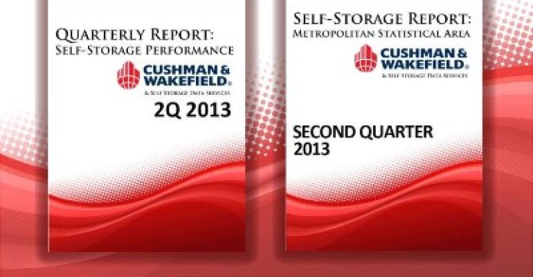 Inside Self-Storage Store Cushman & Wakefield Reports