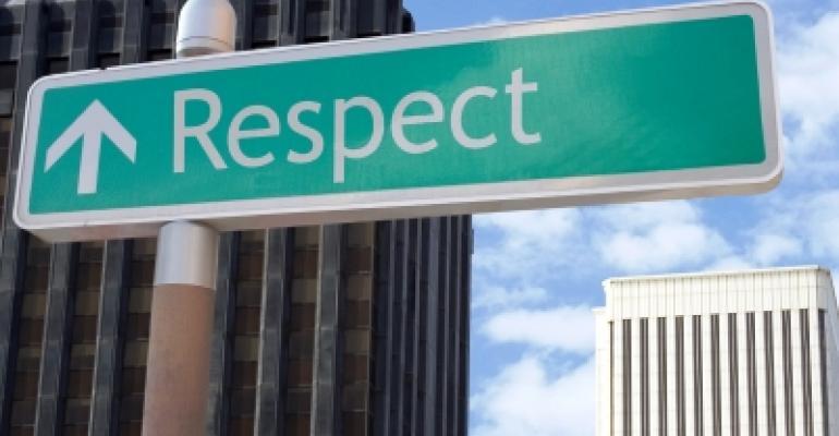Respect Street Sign