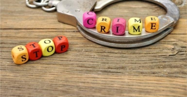 Stop Crime Handcuffs