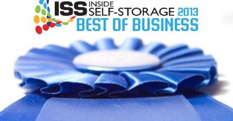 Inside Self-Storage Best of Business 2013