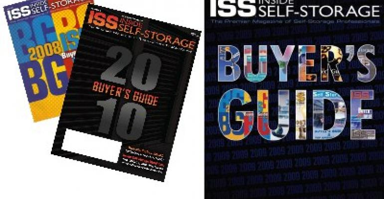 Inside Self-Storage Buyer's Guide