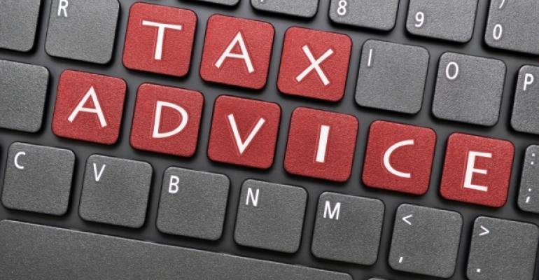 Tax Advice Keyboard