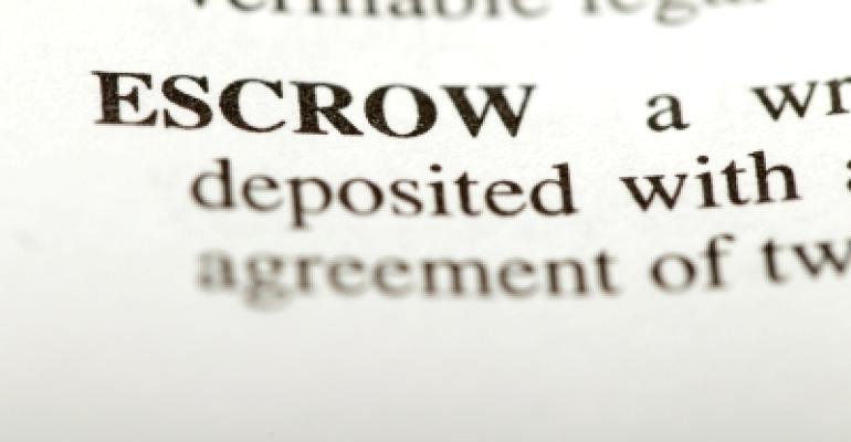 Definition of Escrow