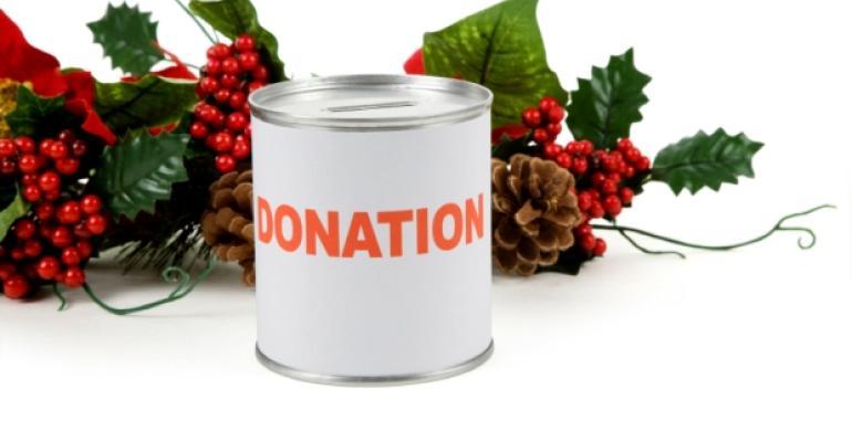 Holiday Charity Donation