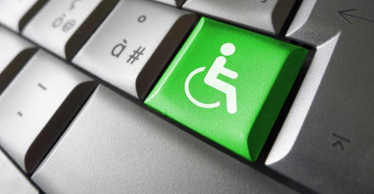 Disability button on keyboard