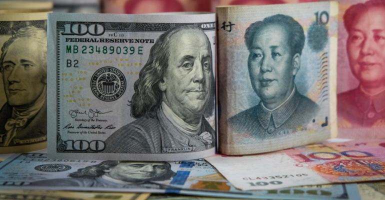 American and Asian Currency
