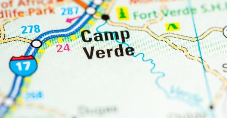Camp Verde on map
