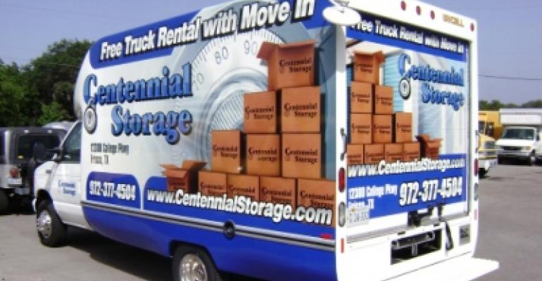 Centennial Self Storage Rental Truck On The Move***