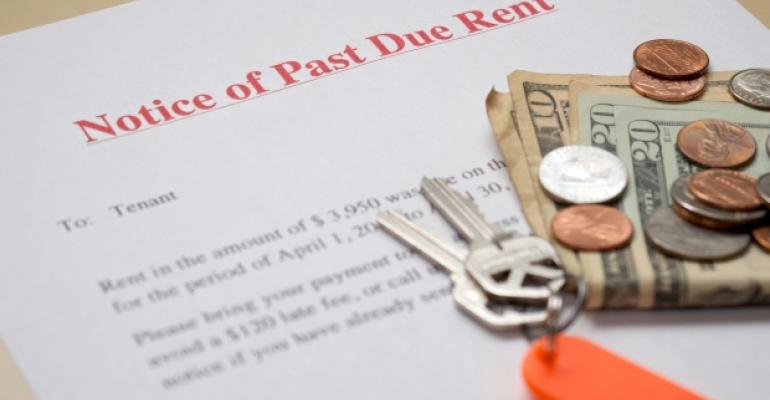 Notice of Past-Due Rent